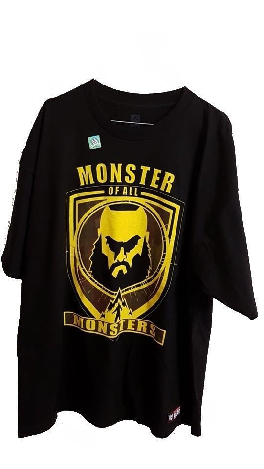 Braun Strowman Monster of All Monsters Kinder Authentic T-Shirt