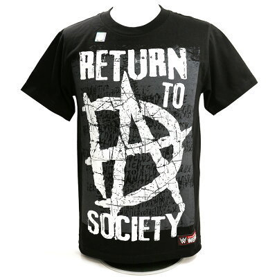 Dean Ambrose Return to Society Kinder  Authentic T-Shirt