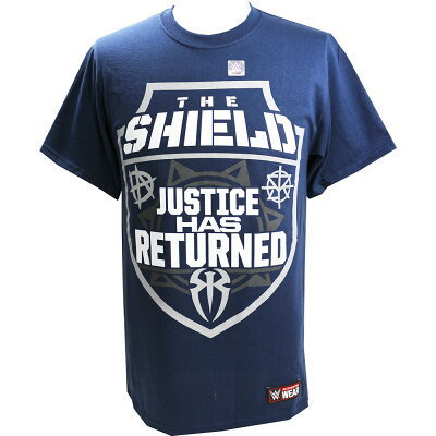 The Shield Justice Has Returned Frauen  Authentic T-Shirt