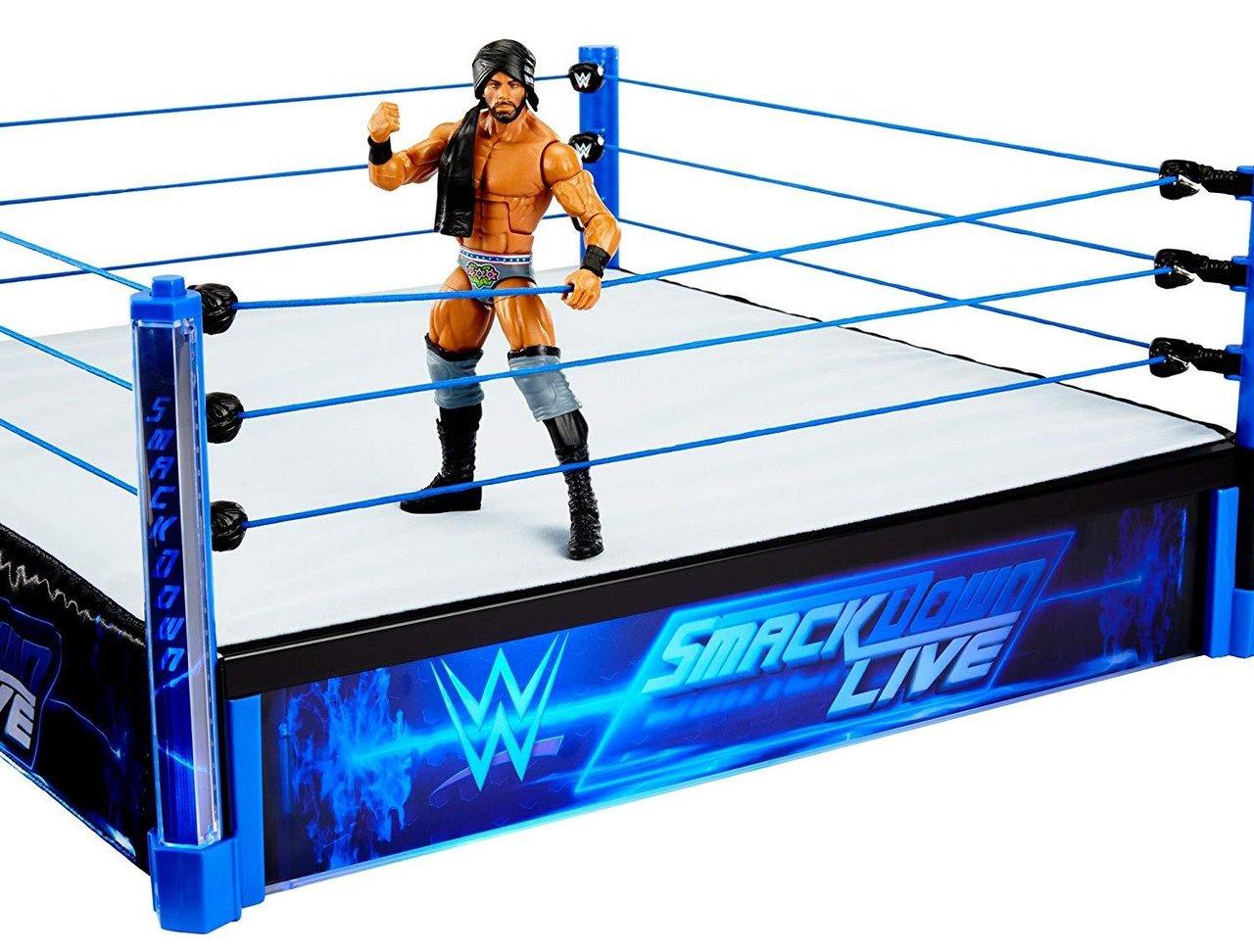 Wwe Smackdown Live Main Event Bague Echelle Elite Jinder Mahal Figur