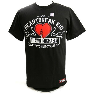 "Shawn Michaels ""The Heartbreak Kid"" Authentic T-Shirt"