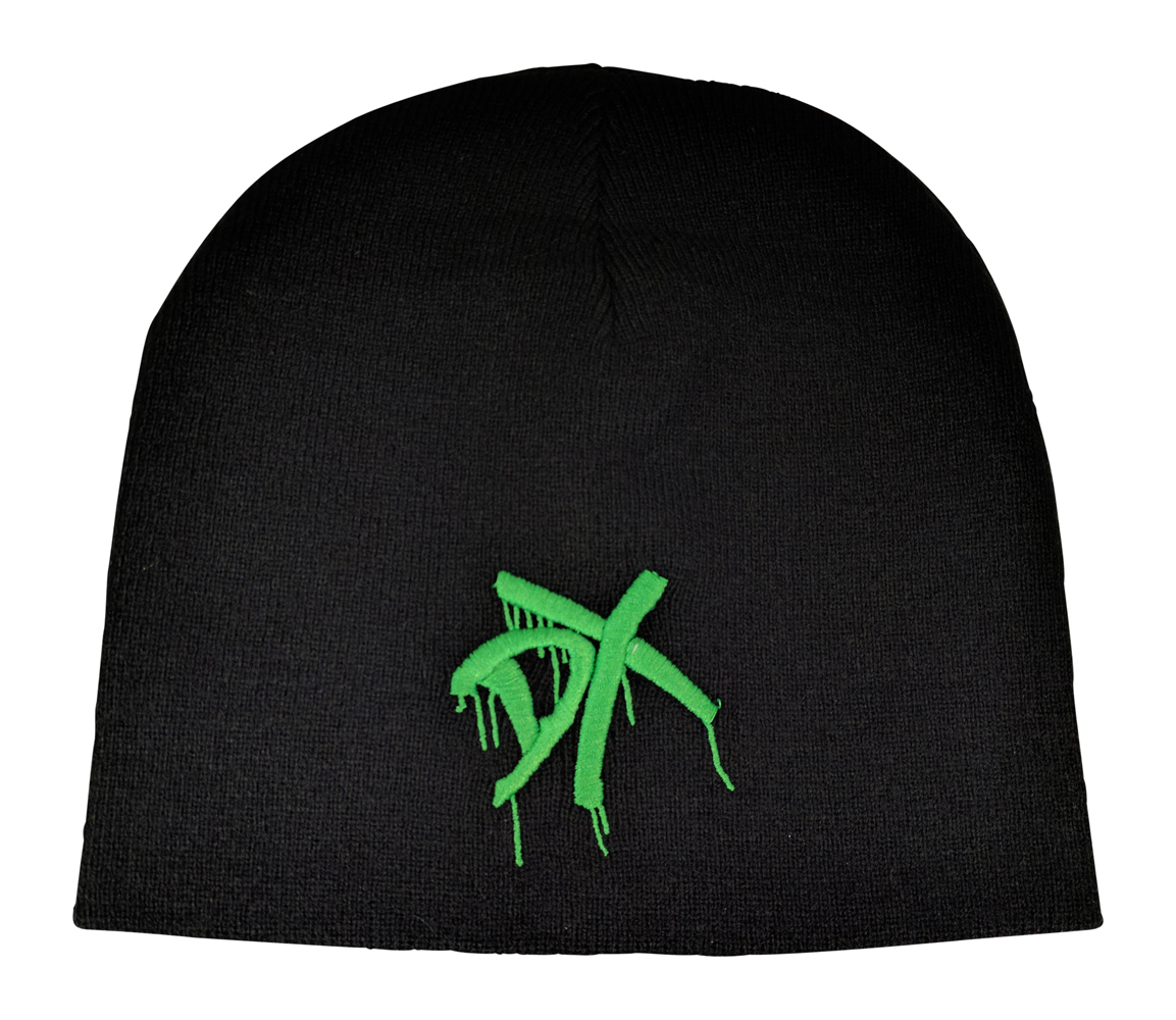 DX GREEN EMBROIDERED LOGO D-GENERATION X WOLLMÜTZE