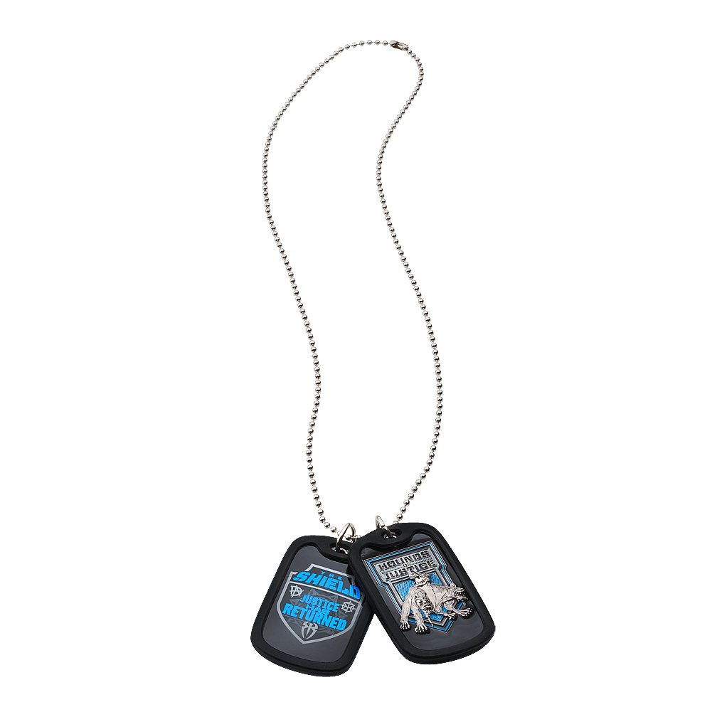 "The Shield ""Return to Justice"" Dog Tags"