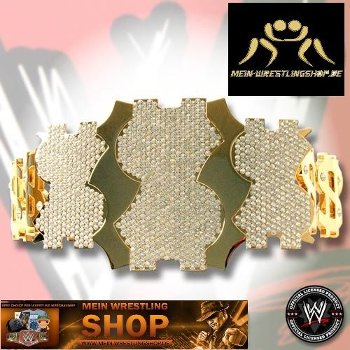 WWE Million Dollar Championship Replica Gürtel