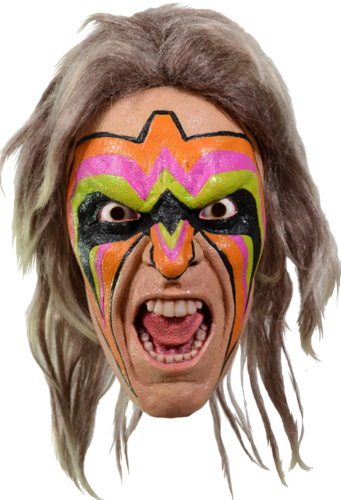 WORLD WRESTLING ENTERTAINMENT - ULTIMATE WARRIOR MASK