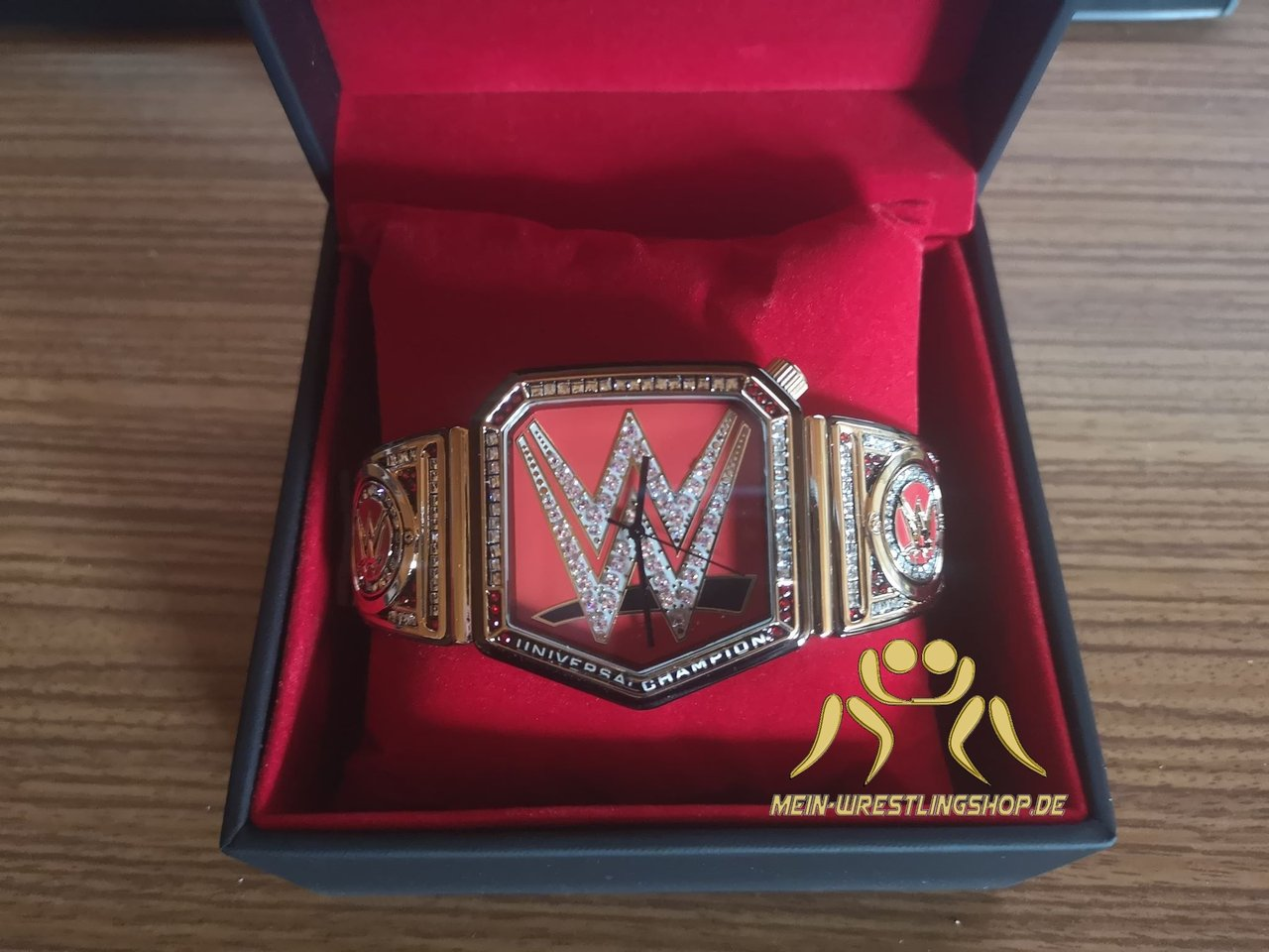 WWE Universal Championship Title Collector's Watch