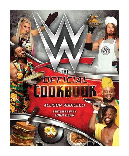 WWE Kochbuch The Official Cookbook *Englische Version*