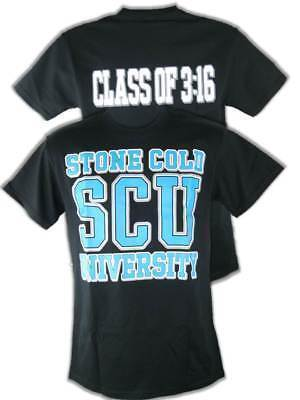 STONE COLD STEVE AUSTIN CLASS OF 3:16 SCU T-SHIRT
