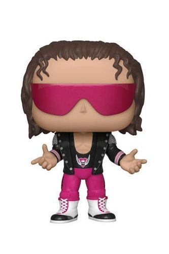 WWE POP! Vinyl Figur Bret Hart with Jacket 9 cm