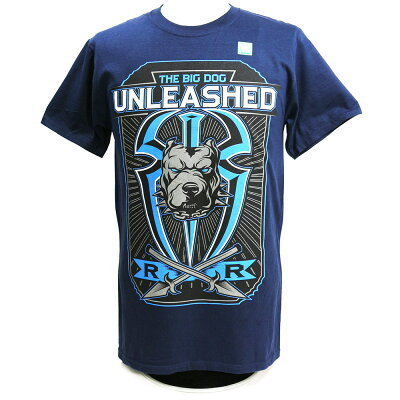 "Roman Reigns ""Big Dog Unleashed"" Authentic T-Shirt"