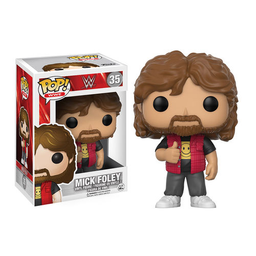 Mick Foley Funko Pop Figur