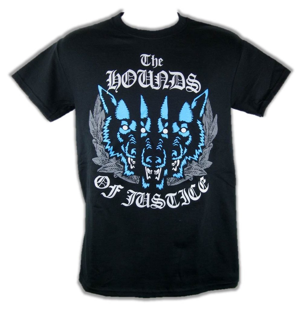 WWE THE SHIELD HOUNDS OF JUSTICE CERBERUS  T-SHIRT