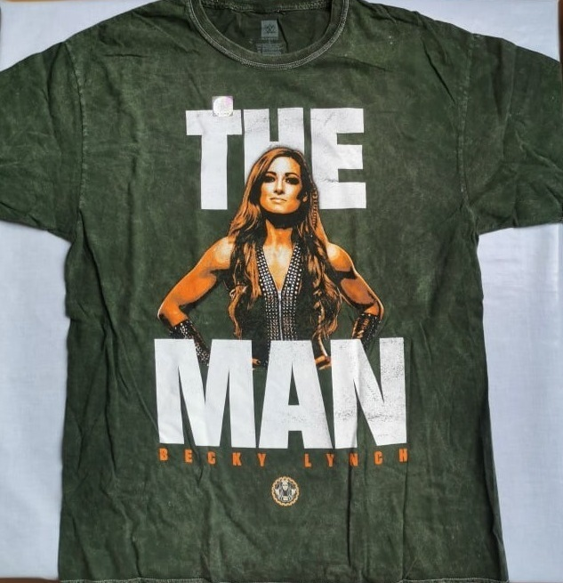"Becky Lynch ""The Man"" Mineral Wash T-Shirt"