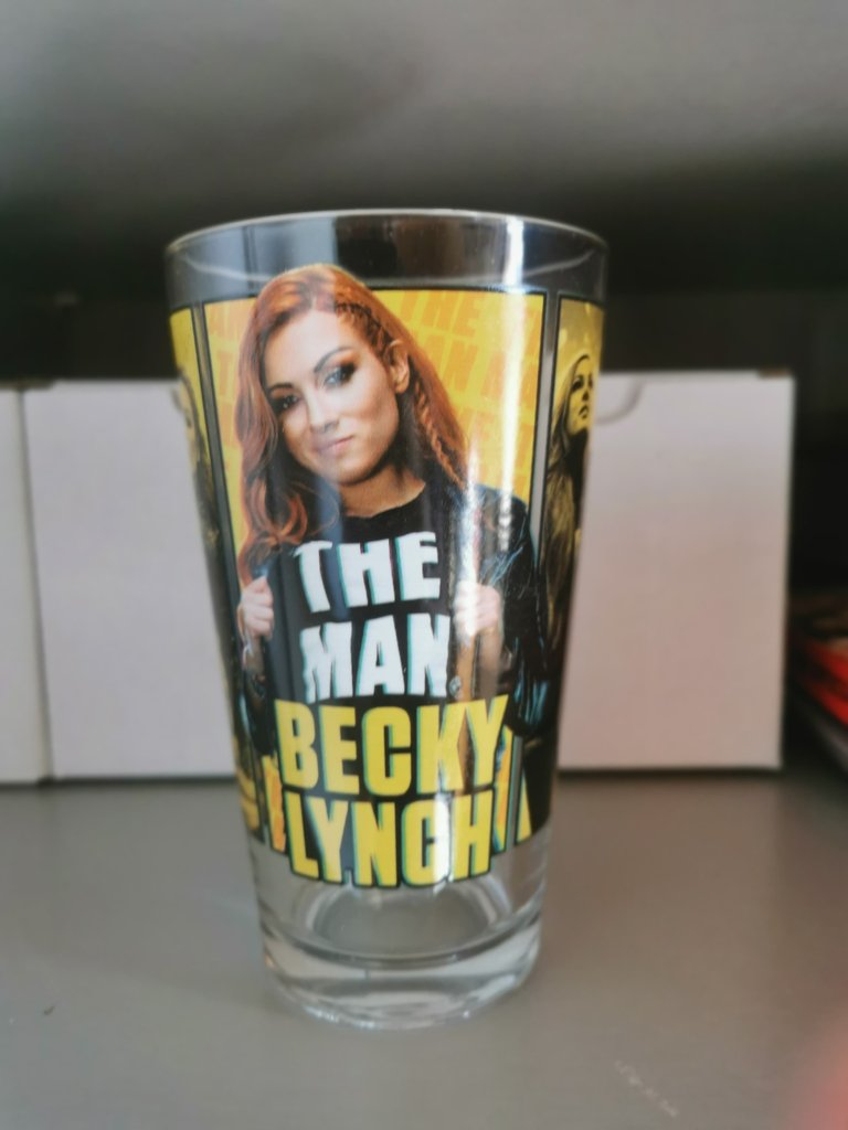 Becky Lynch Superstar Pint Glass
