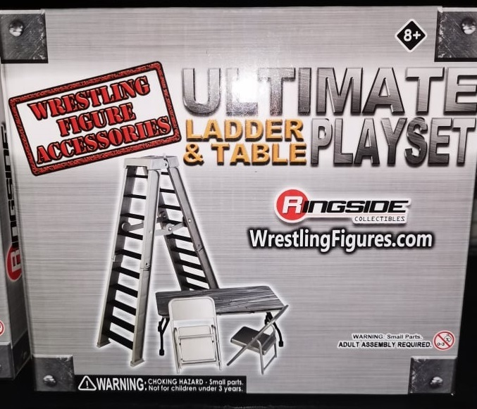 Ultimate Ladder & Table Playset (Silver)