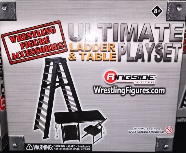 Ultimate Ladder & Table Playset (Schwarz)