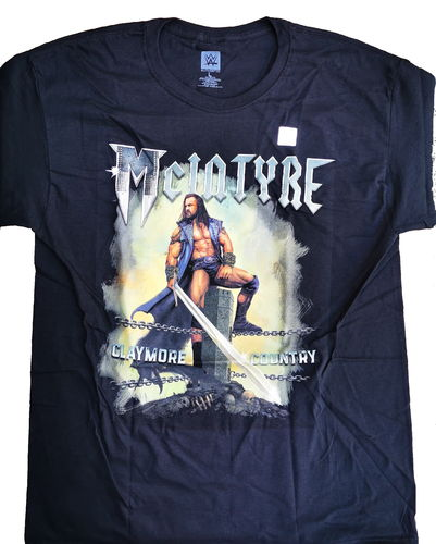 "Drew McIntyre ""Claymore Country"" Special Edition T-Shirt"