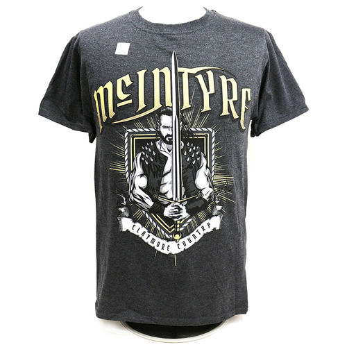 "Drew McIntyre ""Claymore Country"" Authentic T-Shirt"