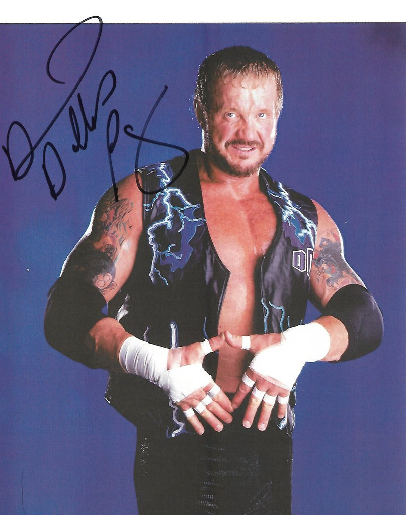Diamond Dallas Page Autogramm