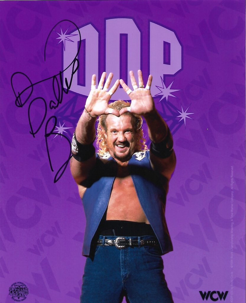Diamond Dallas Page Autogramm 1