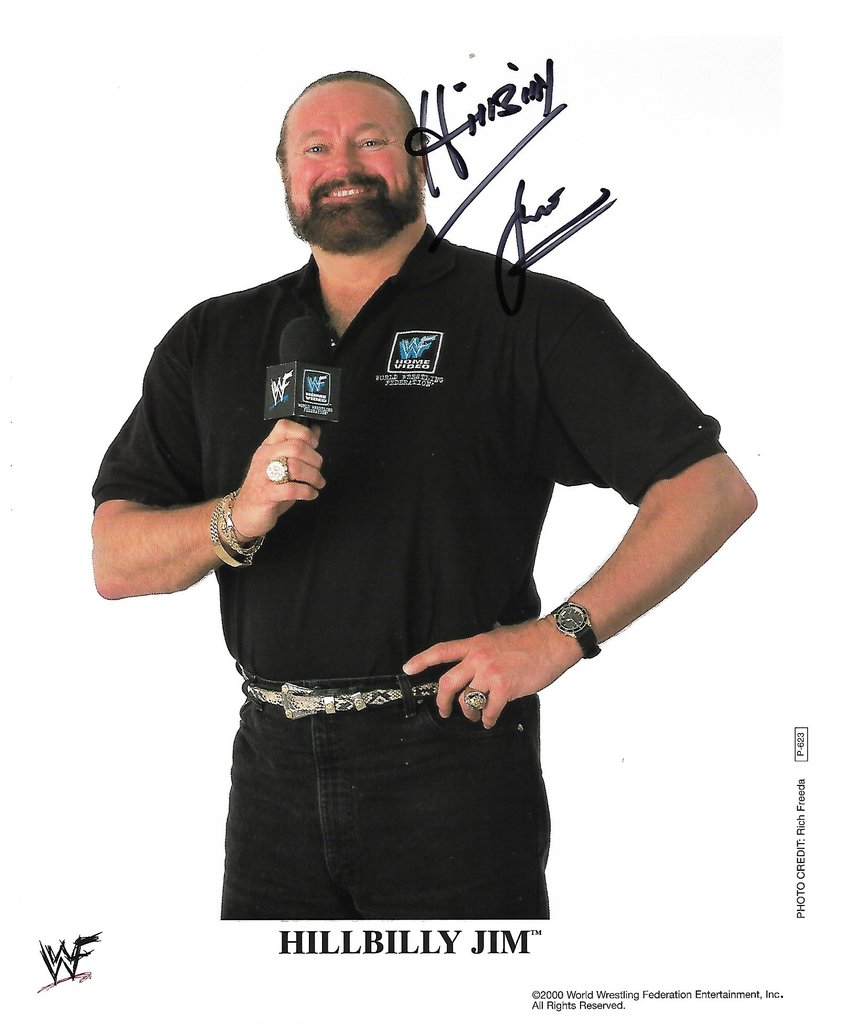 Hillbilly Jim Autogramm