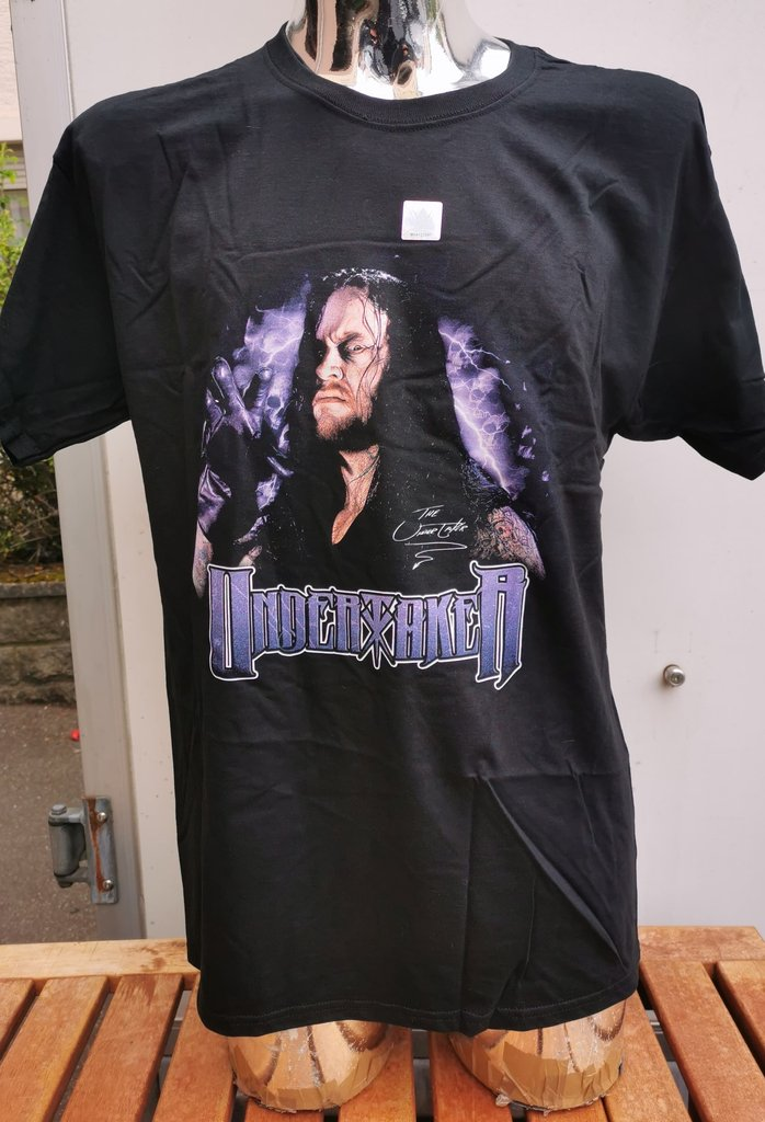 WWE The Undertaker Signature Vintage Collection T-Shirt