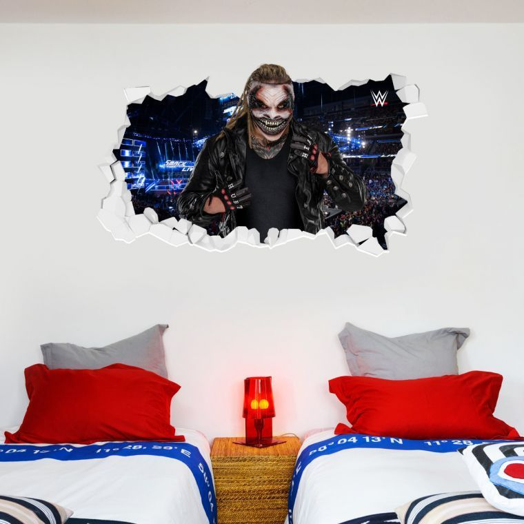 WWE The Fiend Bray Wyatt Broken Wall Sticker