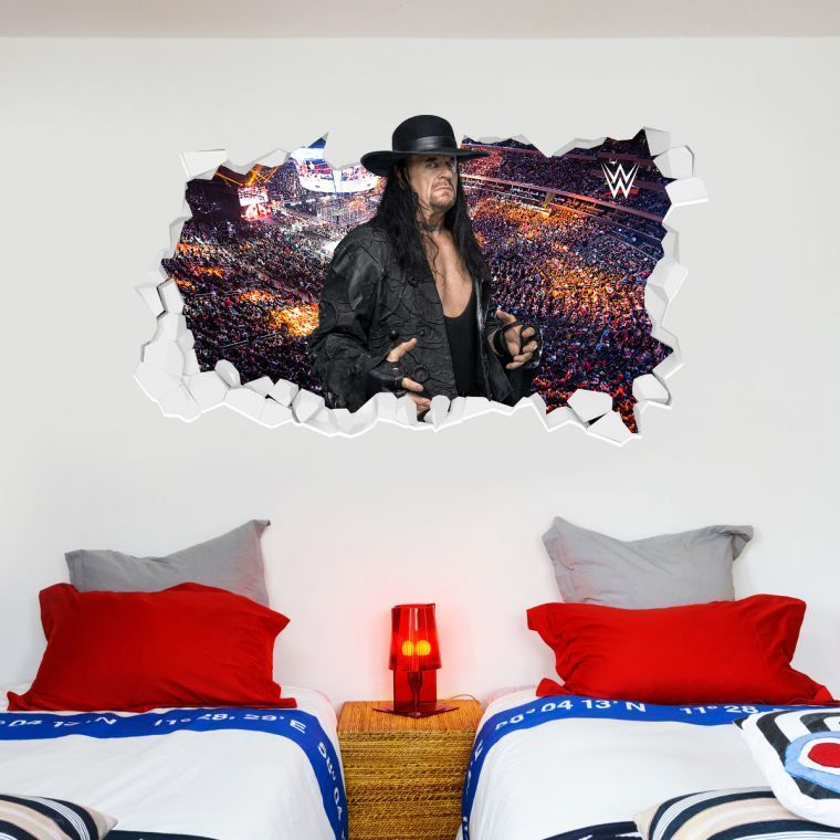 WWE Undertaker Broken Wall Sticker