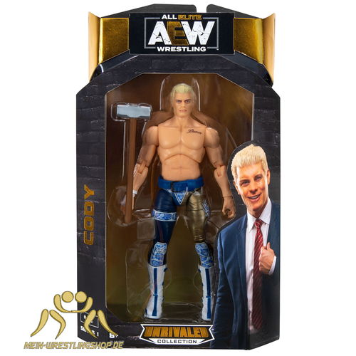 Cody Rhodes - AEW Figur Unrivaled Serie 1