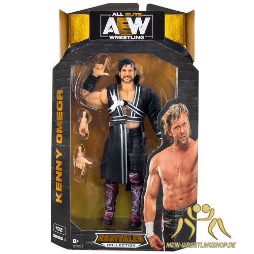 Kenny Omega - AEW Figur Unrivaled Serie 1