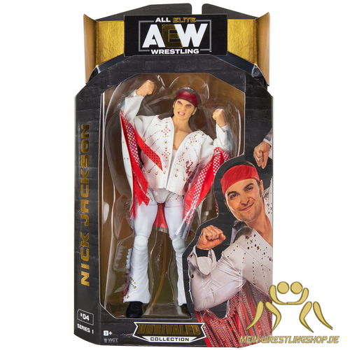 Young Bucks Nick Jackson - AEW Figur Unrivaled Serie 1