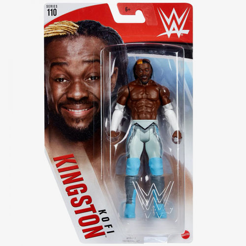 Kofi Kingston WWE Mattel BASIC SERIE 110