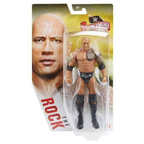 The Rock WWE Mattel BASIC SERIE WrestleMania 36