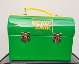 WWE Money In The Bank Authentic Lunch Box