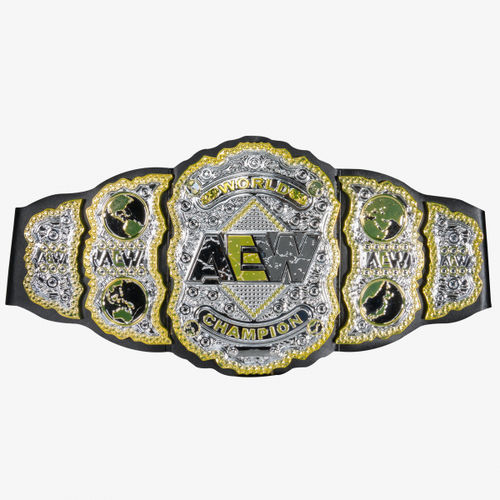 AEW World Championship - Toy Wrestling Belt